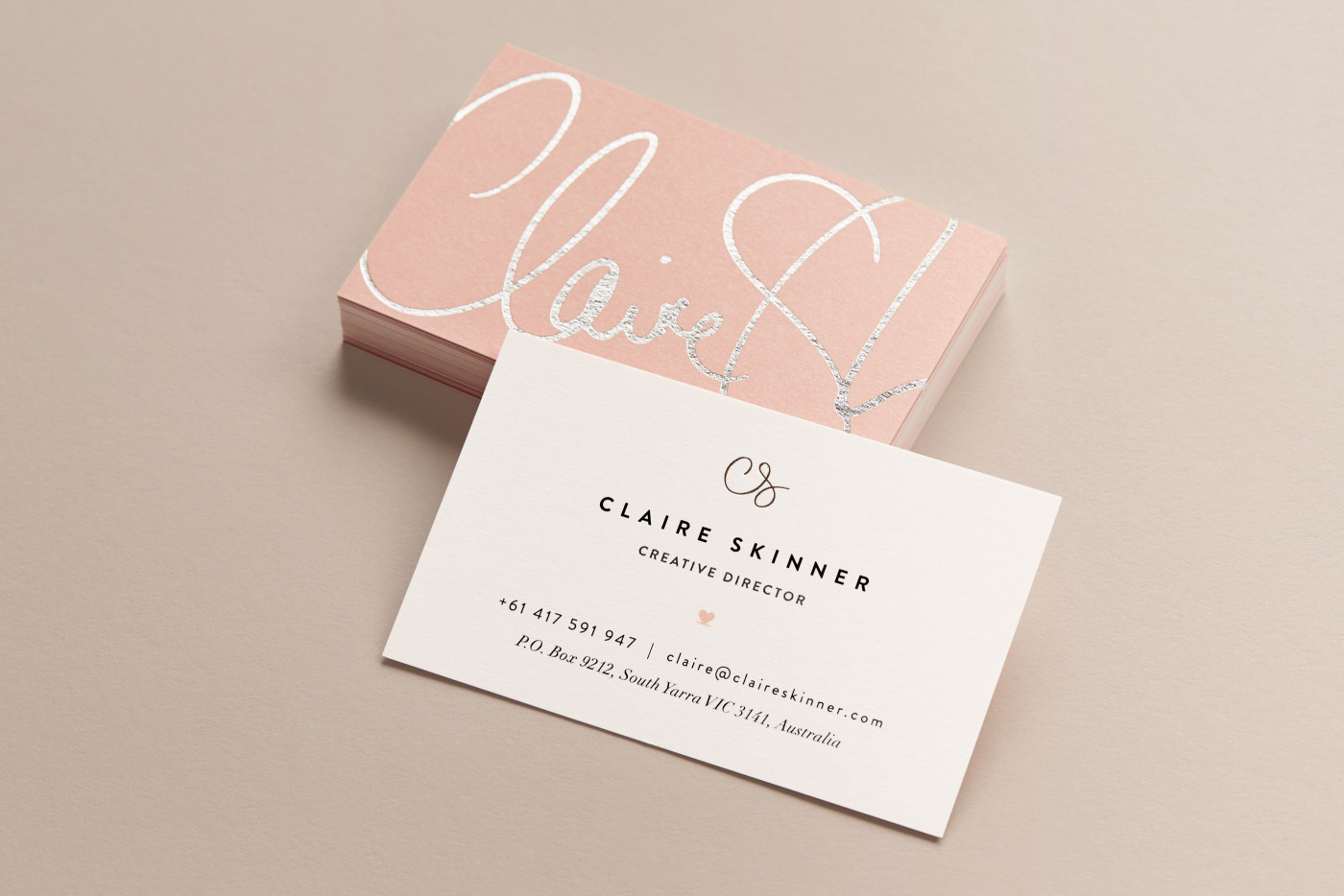 Claire skinner creative director personal branding claire personal branding reheart Image collections